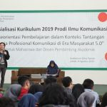 FIKOM UBJ Menggelar Sosialisasi Kurikulum 2019
